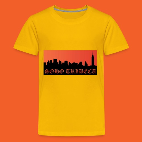 Soho Tribeca NYC Skyline - Kids' Premium T-Shirt