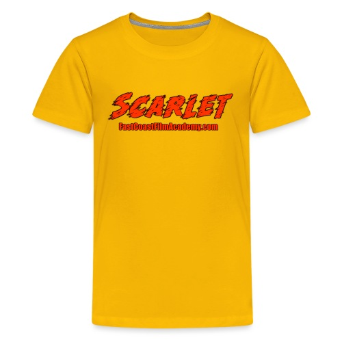 SCARLET Film - Kids' Premium T-Shirt
