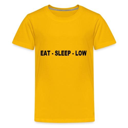 Eat. Sleep. Low - Kids' Premium T-Shirt