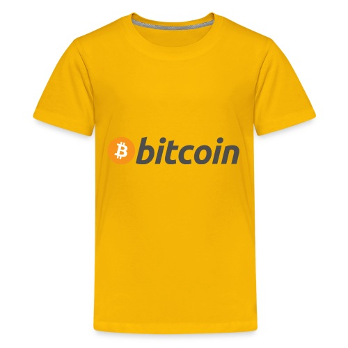 Bitcoin Logo Wear - Kids' Premium T-Shirt