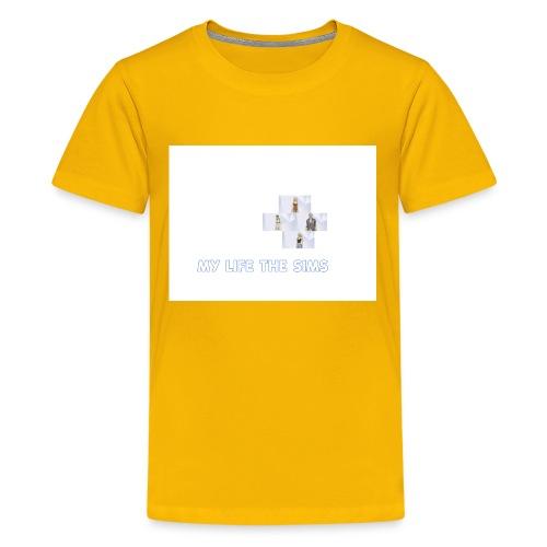 my life the sims - Kids' Premium T-Shirt