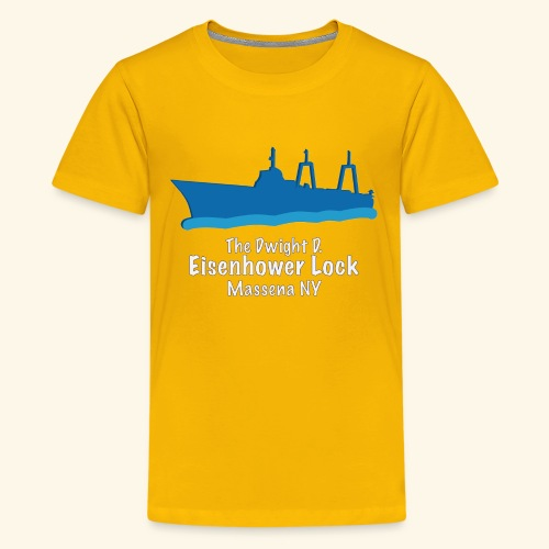 Eisenhower Lock Blue - Kids' Premium T-Shirt
