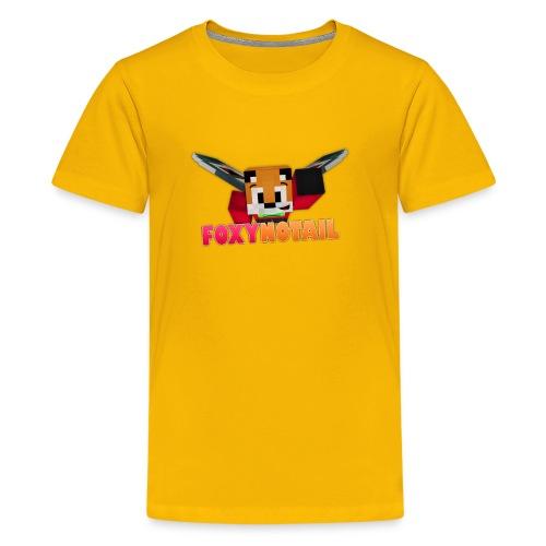 Flying + Logo - Kids' Premium T-Shirt