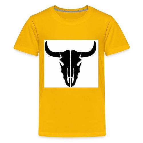 Longhorn skull - Kids' Premium T-Shirt
