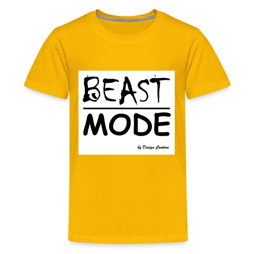 MODE, BEAST-BLACK - Kids' Premium T-Shirt