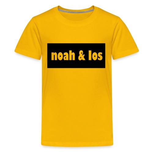 Noah and ios shirt - Kids' Premium T-Shirt