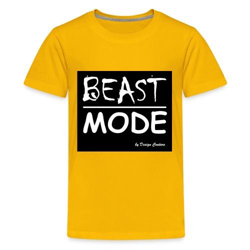 MODE, BEAST-WHITE - Kids' Premium T-Shirt