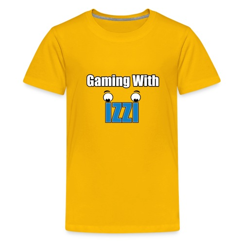 Gaming With Izzi - Kids' Premium T-Shirt