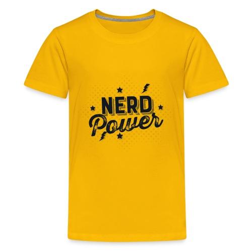 Nerd Power - Kids' Premium T-Shirt