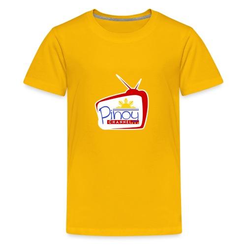 Pinoy Channel Logo - Kids' Premium T-Shirt
