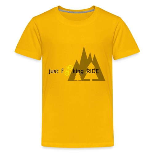Mountain Biking JFR - Kids' Premium T-Shirt