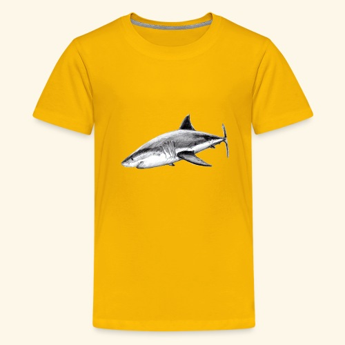 Great white shark - Kids' Premium T-Shirt