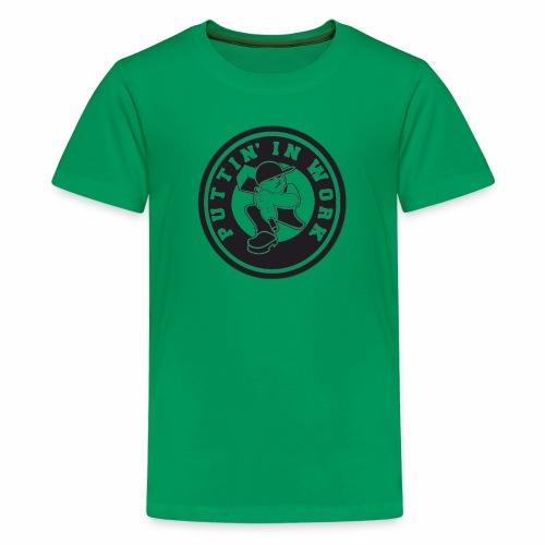 Puttin' In Work Apparel - Kids' Premium T-Shirt