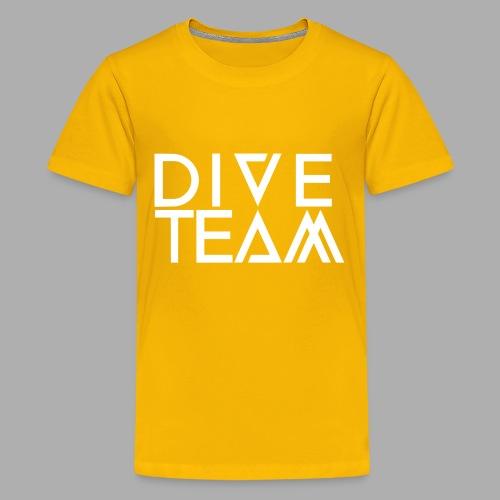 dive team full logo - Kids' Premium T-Shirt