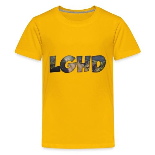 LGHD Rust Name png - Kids' Premium T-Shirt