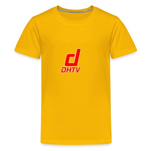 DHTV_Logo_New - Kids' Premium T-Shirt