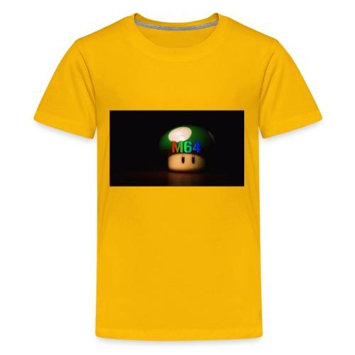 mushroom design - Kids' Premium T-Shirt
