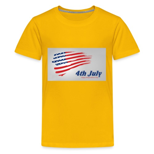 USA Independence Day 2 - Kids' Premium T-Shirt