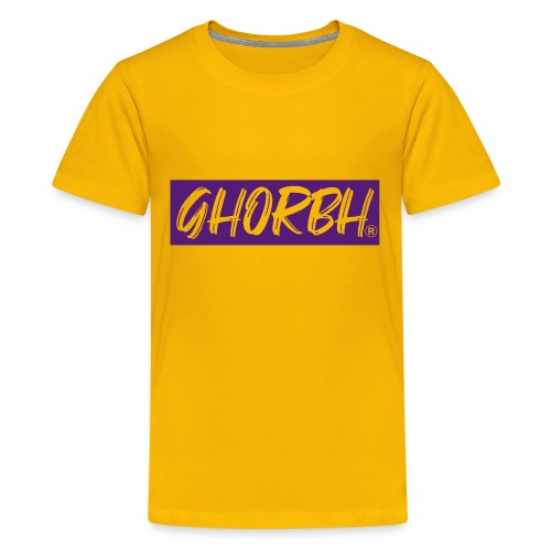 Ghorbh Mindset - Get Hungry or Be Hungry - Kids' Premium T-Shirt