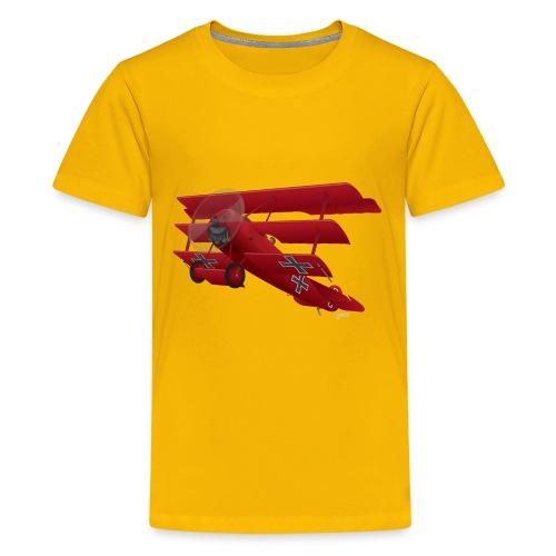 DR-1 Red Baron Triplane WWI Warbird - Kids' Premium T-Shirt