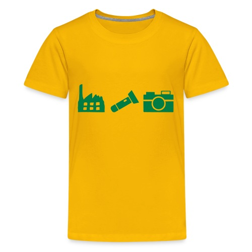 DCUE_Icons_Small - Kids' Premium T-Shirt