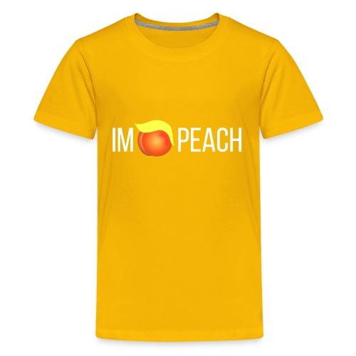 IMPEACH / WHITE - Kids' Premium T-Shirt