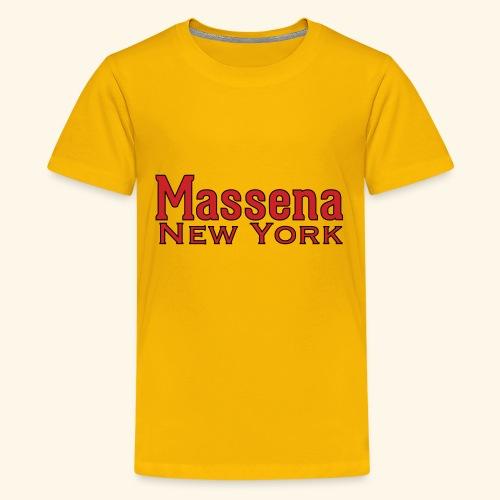 Massena New York - Kids' Premium T-Shirt
