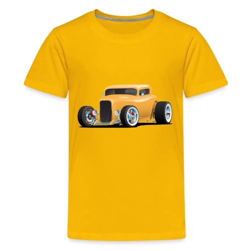 Classic American 32 Hotrod Car Illustration - Kids' Premium T-Shirt