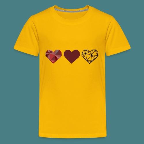 Tripple Hearts - Kids' Premium T-Shirt