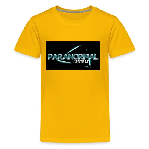 Paranormal Central On Black - Kids' Premium T-Shirt