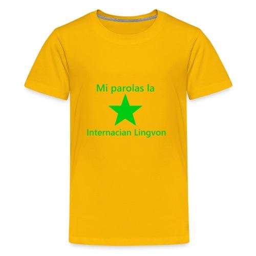 I speak the international language - Kids' Premium T-Shirt