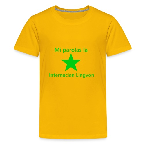 I speak the international language - Kids' Premium T-Shirt