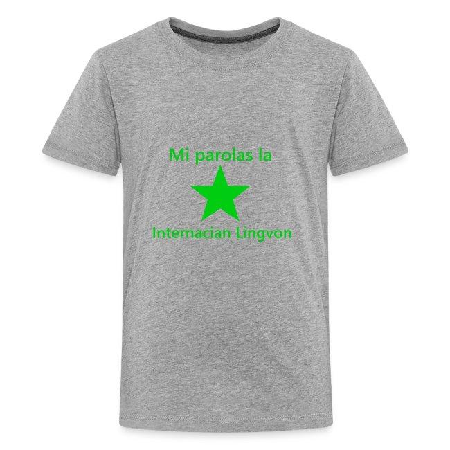 I speak the international language