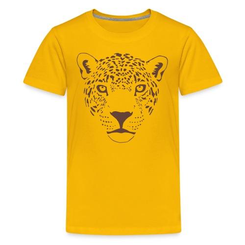 jaguar cougar cat puma panther leopard cheetah - Kids' Premium T-Shirt