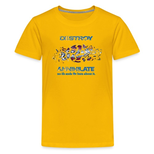 Golden State Warriors Yellow - Kids' Premium T-Shirt