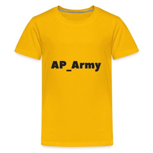 AP_Army hoddies - Kids' Premium T-Shirt