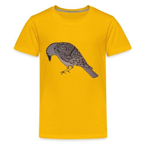 art deco raven - Kids' Premium T-Shirt