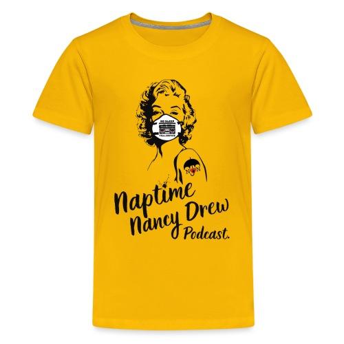 Marilyn Mask & Tattoo design - Kids' Premium T-Shirt