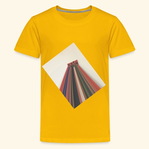 Flowers zooming toward the sky. - Kids' Premium T-Shirt