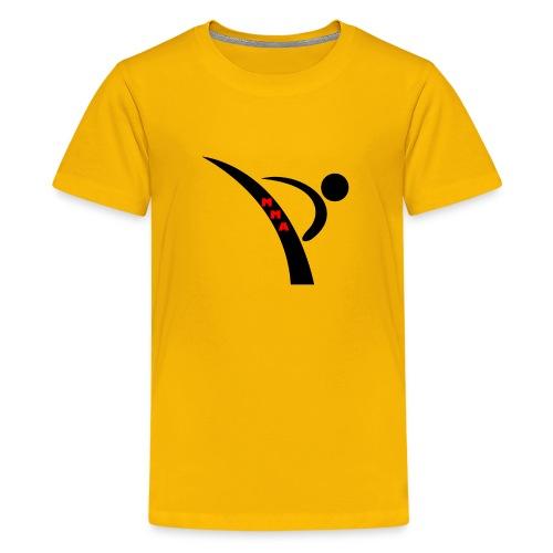 Mixed Martial arts such as MMA, BJJ MMA LIFE - Kids' Premium T-Shirt