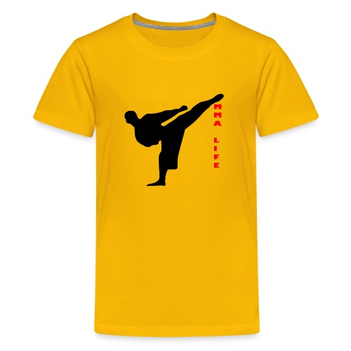 Mixed Martial arts such as MMA, BJJ by MMA LIFE - Kids' Premium T-Shirt