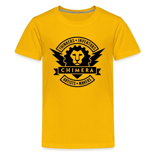Chimera Logo (Dark) - Kids' Premium T-Shirt