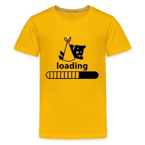 loading baby incoming - Kids' Premium T-Shirt