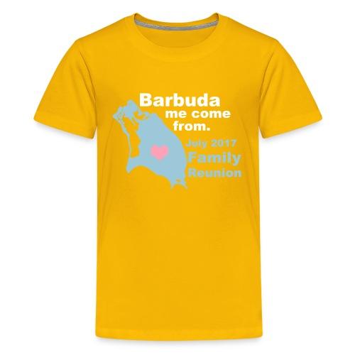 Barbuda Family Reunion - Kids' Premium T-Shirt