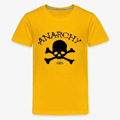 Anar Skull black - Kids' Premium T-Shirt