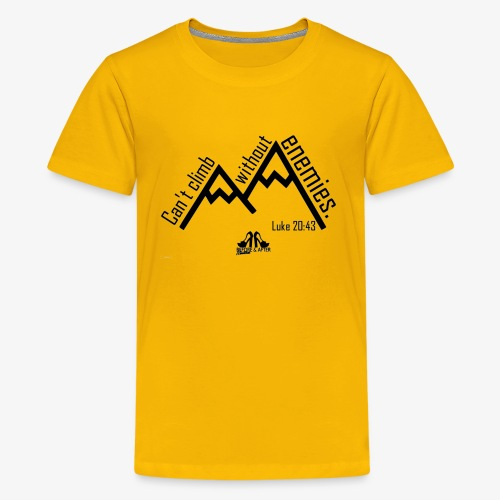Can't Climb - Kids' Premium T-Shirt