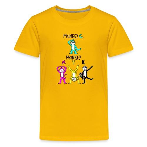 monkey see myk - Kids' Premium T-Shirt