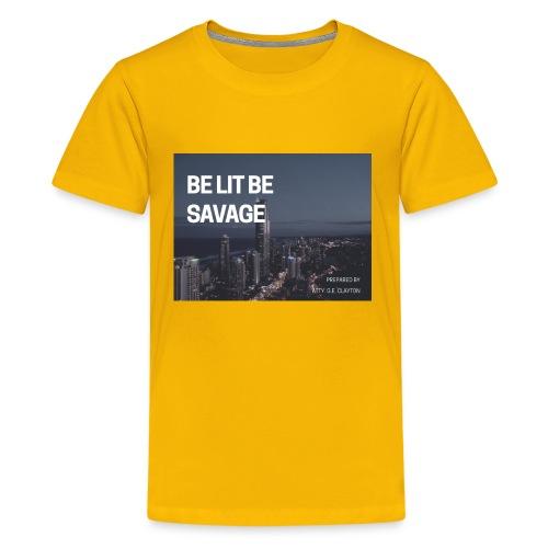 1A1F6F55 E6A7 4D49 A5E7 34FA9B7E83D6 - Kids' Premium T-Shirt