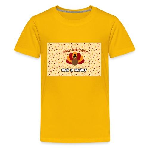 thanksgiving are u scary merch - Kids' Premium T-Shirt