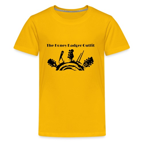 HBOutfit Logo Black - Kids' Premium T-Shirt